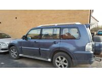 Mitsubishi shogun new shape 7 seater