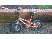 Childrens bike - age 3-5 no stabilisers