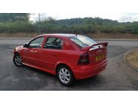 Vaxhuall astra 2003 sport..long mott..large spoiler..drives exellent..any offers