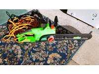 Florabest electric chainsaw