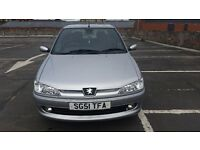 peugeot 306 51 reg low milage 32k long mot fsh