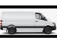Man with van available, or men with van depending on size of job
