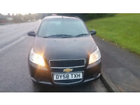 58reg chevrolet AVIO ,low mileage and very reliable (BARGAIN)