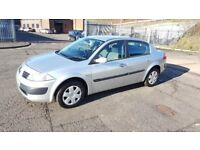Automatic 2006 Renault Megane Expression VVT A 5 Door 1 Year MOT 48000 Miles Only