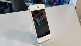 Apple Iphone 5 16GB White unlocked, use with any network, with cable and charger