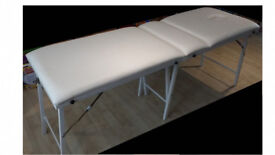 Cream Portable Folding Massge Table