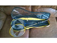 Carlton Badminton rackets with case