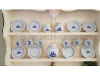 WedgeWood American clipper tea set.