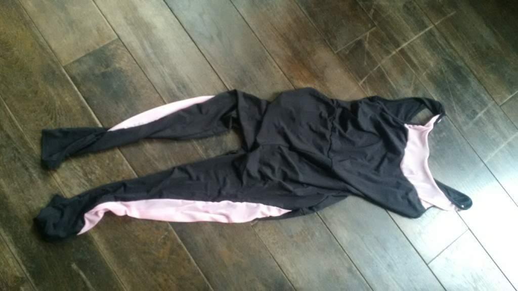 new jumpsuit size S 36 black