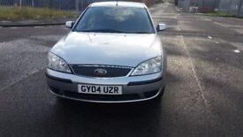 FORD MONDEO LX, PETROL, MANUAL, SILVER, HATCHBACK, 78000 MILEAGE, FORD DEALER 13 SERVICES HISTORY