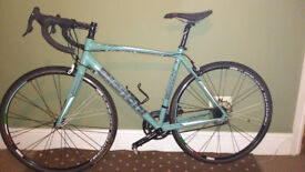Bianchi Via Nirone 7Xenon 2015 Celeste colour road bike. Excellent Condition. 53cm (21inch).