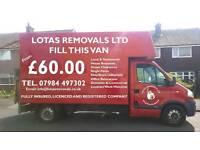 LOTAS REMOVALS LTD & MAN AND VAN SERVICE