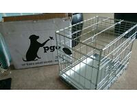 Metal dog cage extra small