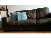 leather sofa (DFS)