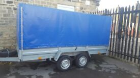 "Trailer Galvanised 11ft 6"" x 5ft Box trailer"