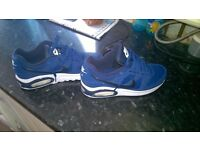 brand new 100% REAL NOT FAKE nike air max trainers junior size 6
