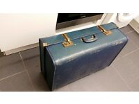 Vintage antique suitcase luggage good as a decorative piece