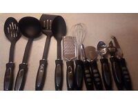 11 piece utensil set & utensil holder (canister can be sold separately)