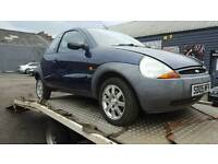 Ford Ka set of 4 alloy wheels with good tyres