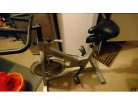 Spin/exercise bike 18kg flywheel