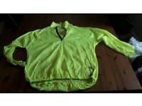 Cycling showerproof jacket