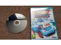 Sonic & All Stars Racing Transformed (Wii U) *Like New*