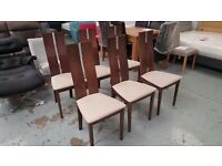 6 Ex Display Julian Bowen Cayman Dining Chairs Excellent Condition CAN DELIVER View Collect NG177
