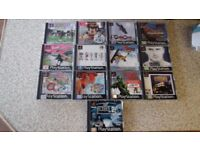 Playstation PS1 PSX Video Game Bundle (Mickey, WWF, Spiderman + More)