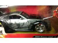 Fast and Furious, 350z, Diecast car.