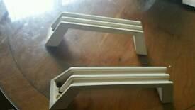 pair of caravan grab handles