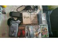 Psp and 12 games bundle