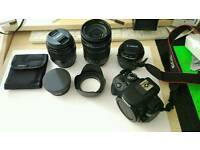 CANON EOS 100D WITH EXTRA-MUST SEE!!