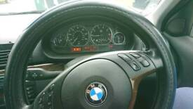 BMW E46 2001 LPG converted with 1year MOT