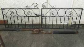 Cast Iron gates and posts