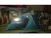 Four berth brand new tent