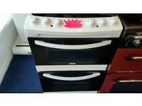 Zanussi 55cm wide electric cooker for sale. Free local delivery