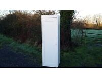 Thin Vintage Painted Shabby Chic Wardrobe