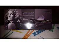 BABYLISS SECRET CURL BRAND NEW NEVER OPENED. IDEAL CHRISTMAS PRESENT. HEAT MAT,CARRY BAG,SAFETY CUT