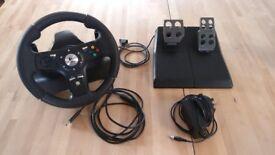 Logitech Drive FX Xbox 360/PC Steering Wheel