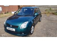 Suzuki Swift DDIS, low mileage, service history, 11 months MOT, very economical, careful lady owner.