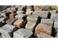 Natural Granite Cobbles / Setts For Sale