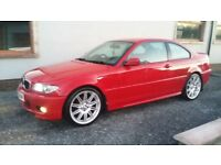 2004 BMW 318 CI COUPE M-SPORT **IMOLA RED**