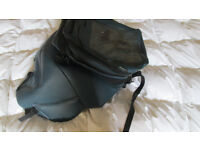 BMW K1200Rs Bagster tank bag and tank protector ..blue.