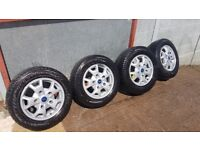 Ford transit custom wheels and tires