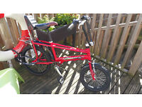 Raleigh Chopper Bicycle 'Hot One' Special Edition
