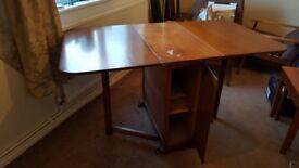 Dropleaf table, circa 1960s