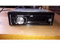 JVC - KD- R50 radio- 2012, like new