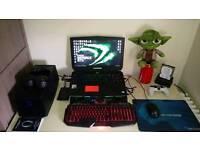Alienware R3 17 ( i7 6820hk. gtx 980 8gb. 16gb ram. 512gb ssd. 1tb hdd 4k screen)