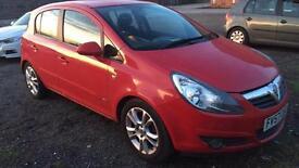 1.4L Vauxhall Corsa Petrol   Red   2008 Reg (57)