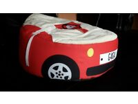 Racing Car Gaga Baby Bean Bag (Red). Never used for just 20 £